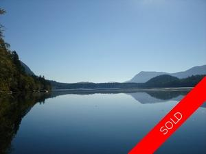 Cowichan Lake Waterfront Lot for sale: Creekside Development   (Listed 2010-05-13)