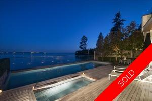 West Vancouver Waterfront Home! for sale:  5 bedroom 5,787 sq.ft. (Listed 2016-03-16)
