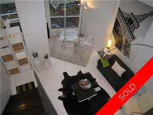 Downtown Vancouver Apartment for sale: The SPOT Studio 633 sq.ft. (Listed 2010-04-08)